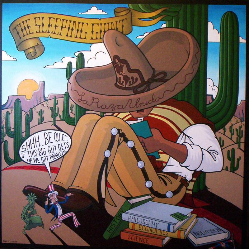 Sleeping Giant   Acrylic on Canvas, 4'x4'.jpg