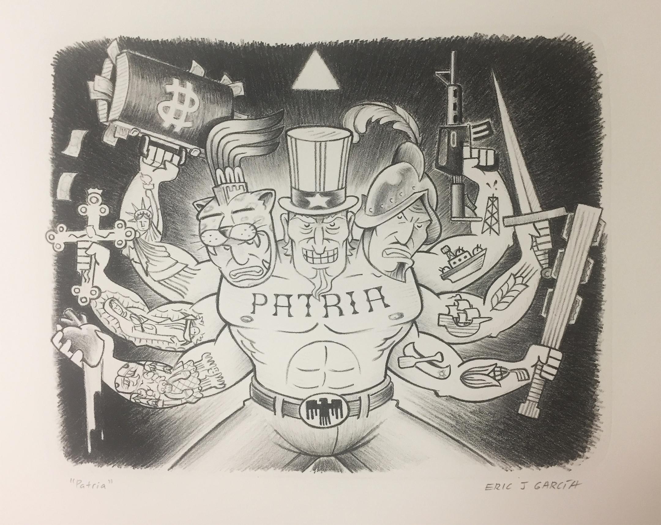 """11""""x15"""" Lithograph printed at Arbing Press."""