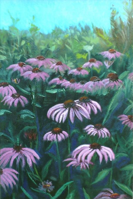 Flower Field  Oil    23h x 15w - Copy.jpg