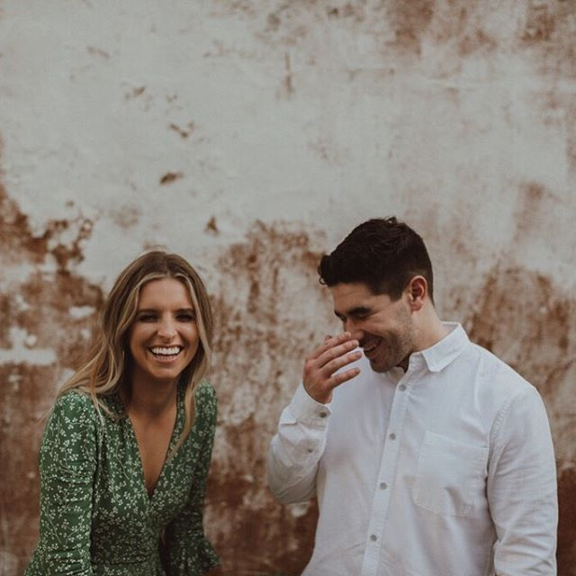 All smiles to have entered these cuties #weddingmonth ! 😄 With over a year of planning together, can't wait for the big day to get here. 👰🏼❤️🤵🏻📷 by @seanmoney_elizabethfay