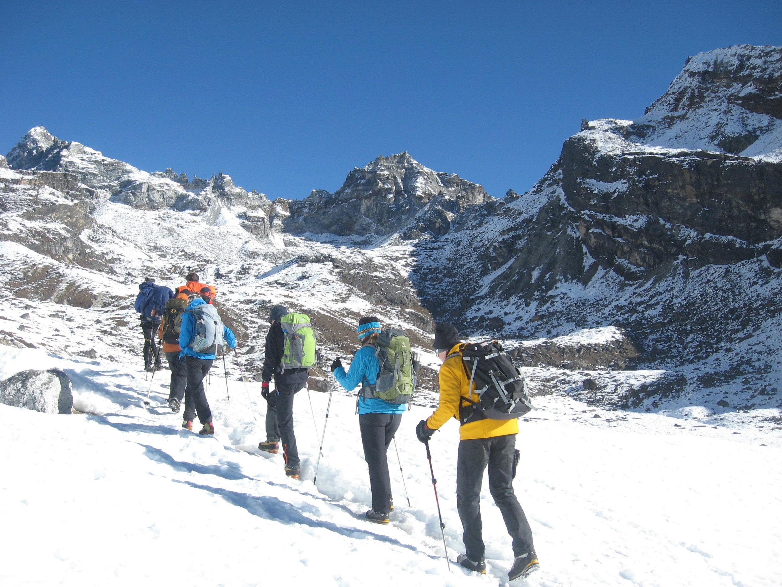 way to Everest base camp.JPG