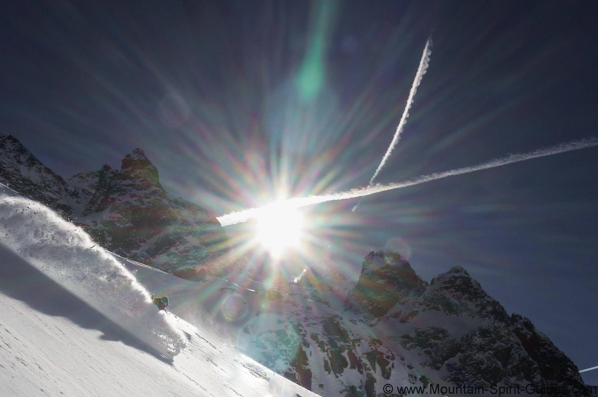 Marmotte Mountain -