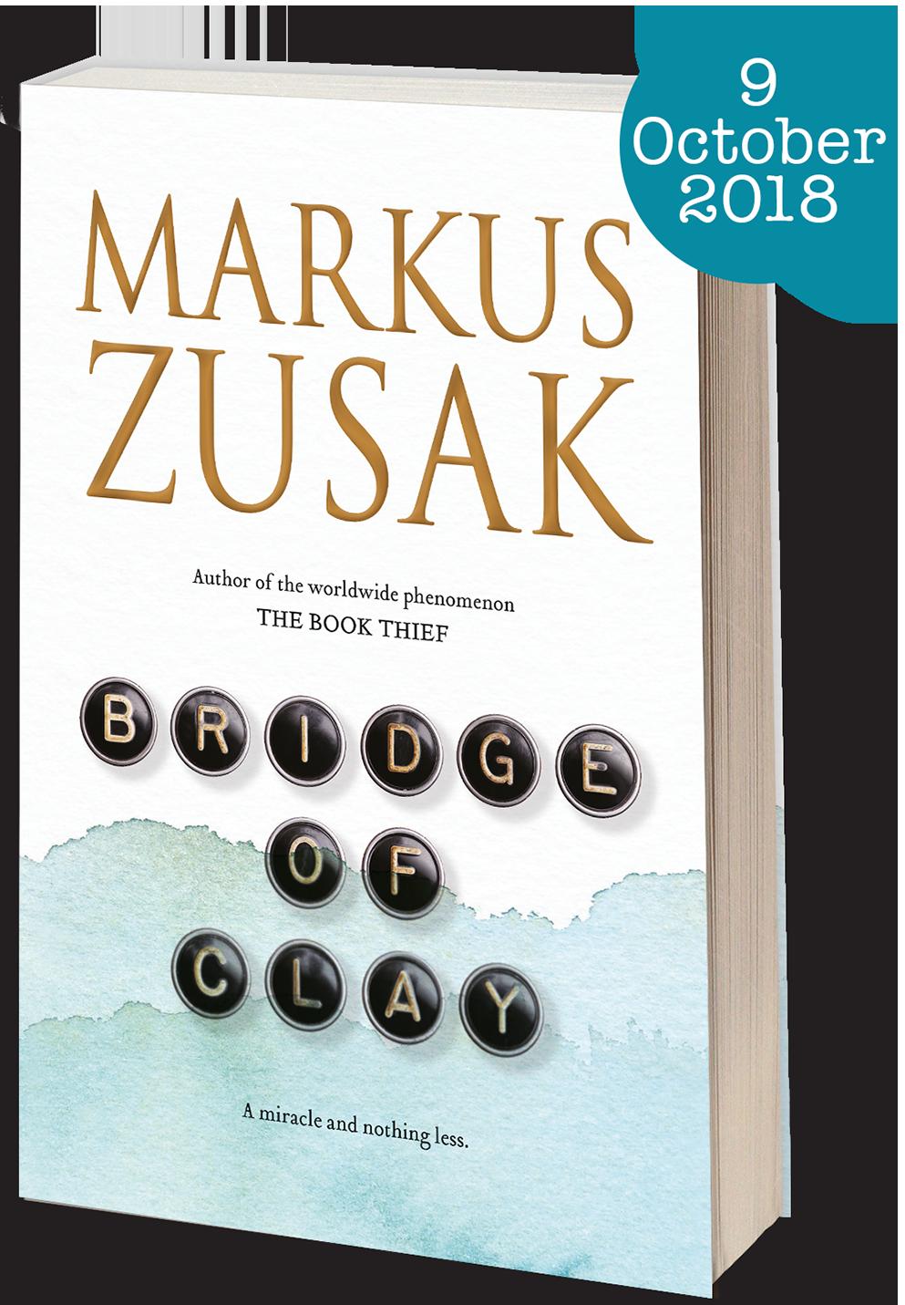 New book from Markus Zusak - Bridge of Clay - Hardcover - 9781743534816