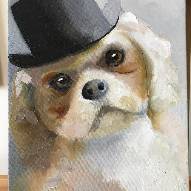 Here's Baxter always handsome and always well-dressed! dogart #dog #art #artist #dogsofinstagram #petportrait #drawing #dogs #dogdrawing #animalart # #artwork #dogportrait #illustration #artistsoninstagram #doglover  #petportraits #dogpainting #portrait #dogstagram #pet #puppy #draw #pets #instaart #watercolor #petportraitartist