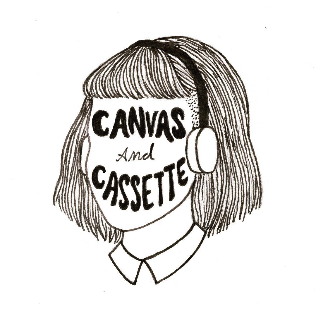 "Canvas & Cassette ""Volume One, Issue Three"" Print Edition Illustration"
