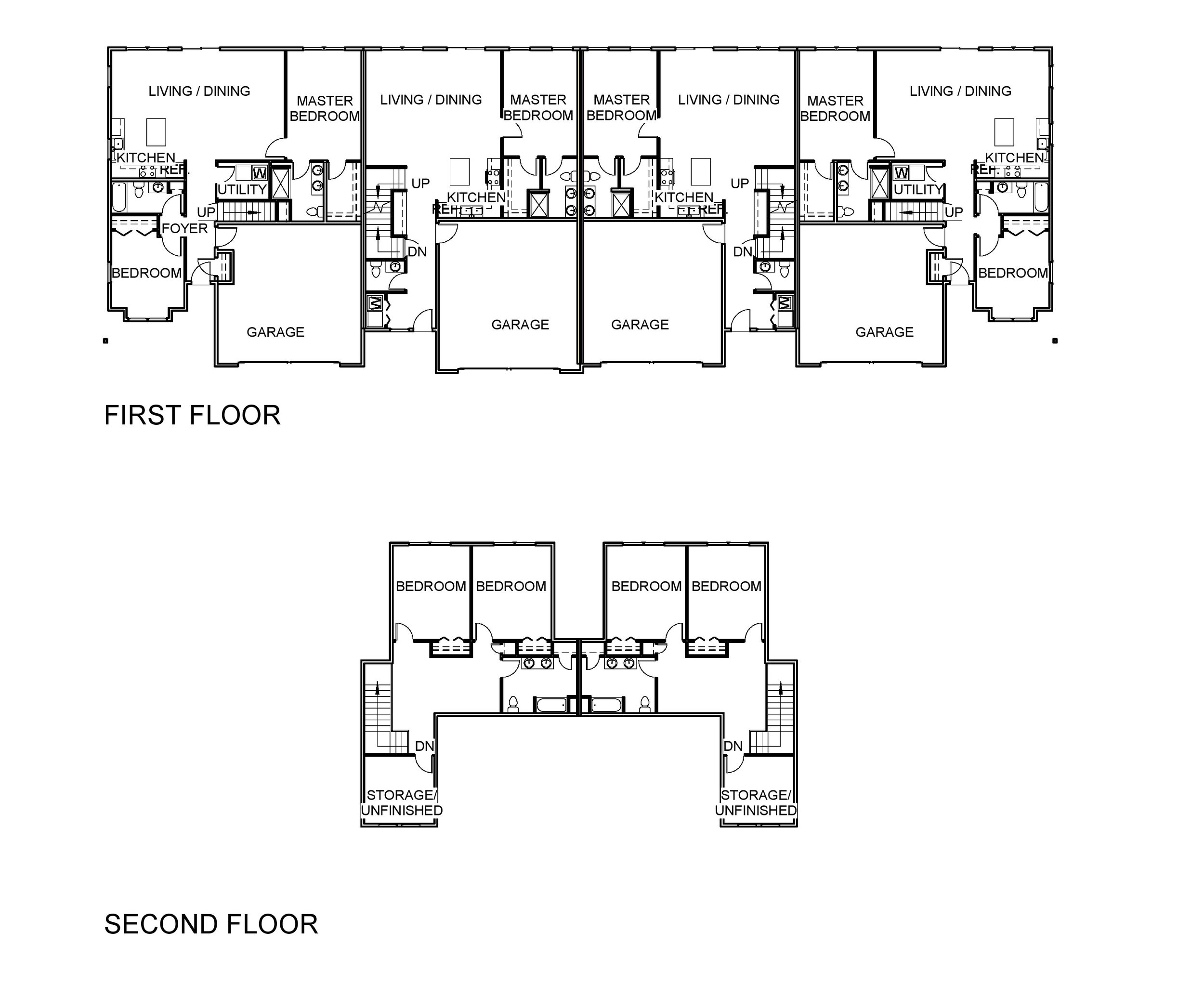 4-Unit Multi Story floor plan.jpg
