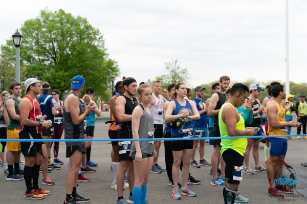 Starting line at the 2018 QDR Queens Marathon (Photo credit: @hoezayyy)