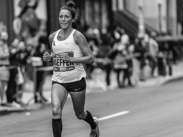 Allie Keiffer at the 2017 NYC Marathon (Credit: @gnp_photos)
