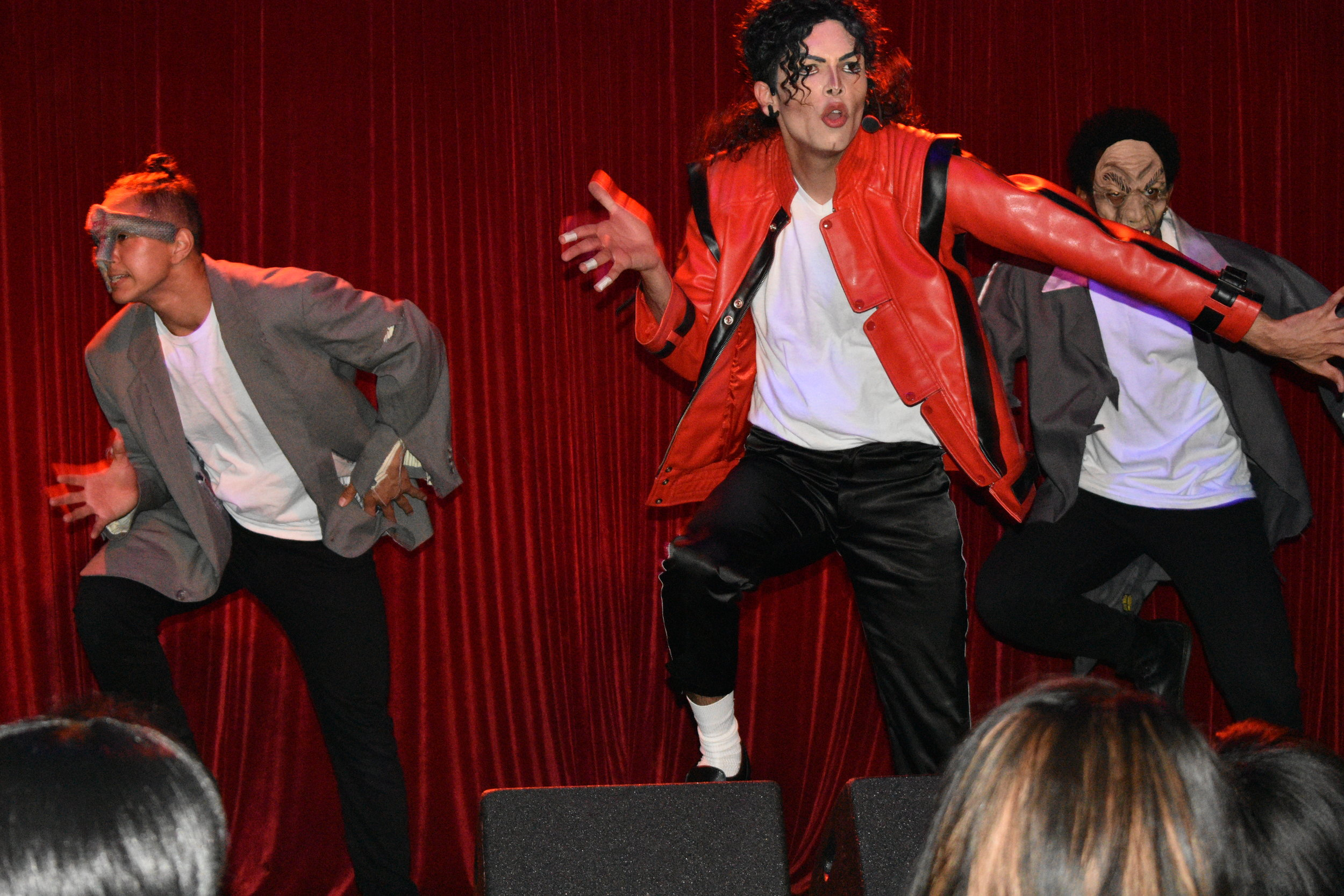 Artist Rem J resurrects the late Michael Jackson onstage at Harvelle's during the Bring Hollywood Home event. The pop king's perfect pitch supported Bring Hollywood Home's mission to keep industry jobs in Los Angeles.