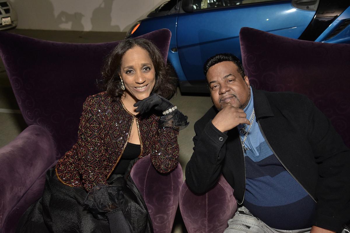 Motown's Karla Gordy and Marvin Gaye III.