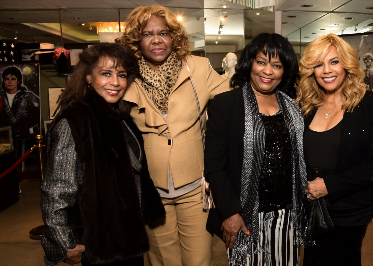 Sherrie Payne, Janie Bradford Hall, Iris Gordy and Claudette Rogers Robinson.