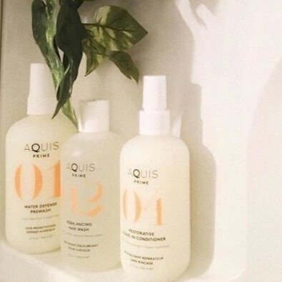 getting #hairstrong with Aquis -
