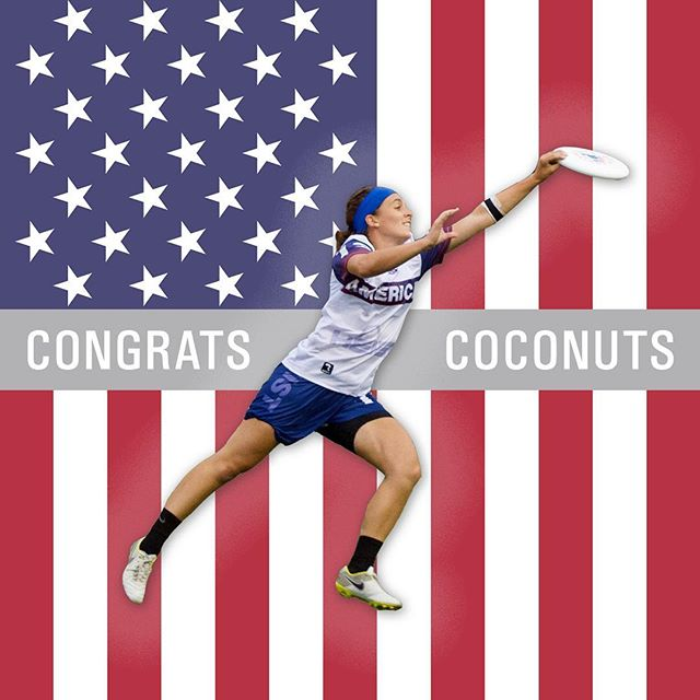 So proud of our very own Brittney Kokinos @coconutzz13 for making the @usau_xnt U-24 team! Catch her in Germany this summer representing the red, white, and blue at the 2019 @worldflyingdisc U-24 Ultimate Championships #oosa