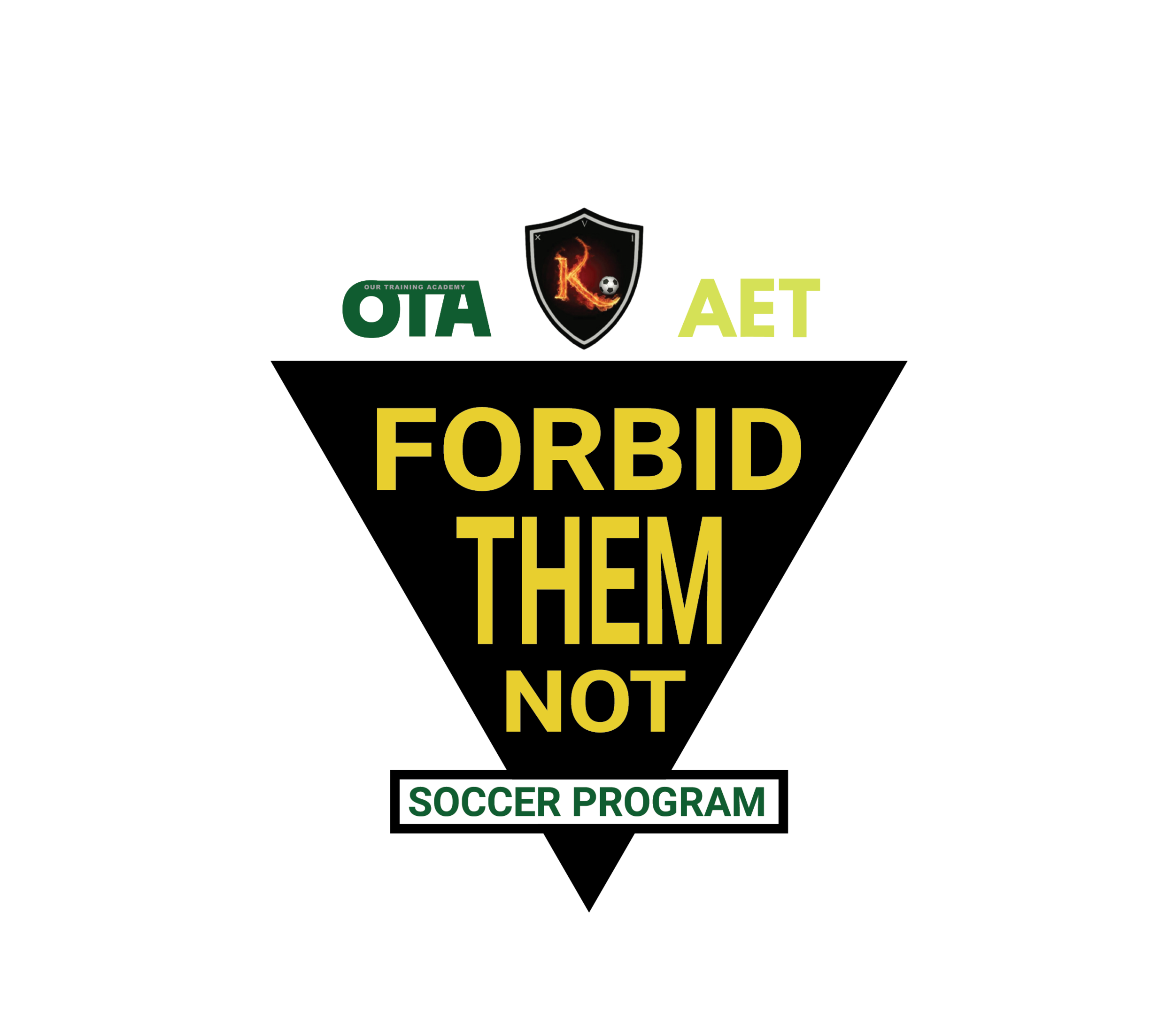Forbid Them Not is a FREE TRAINING program for 2011 and 2012 soccer players. Our mission is to provide every athlete the opportunities to be part of this beautiful game. Our focus will to be to instruct the FUNdamentals skills and movements needed for soccer. This will all be done in a challenging environment that promotes creativity and players decision-making skills to help players reach their goals and potential! -