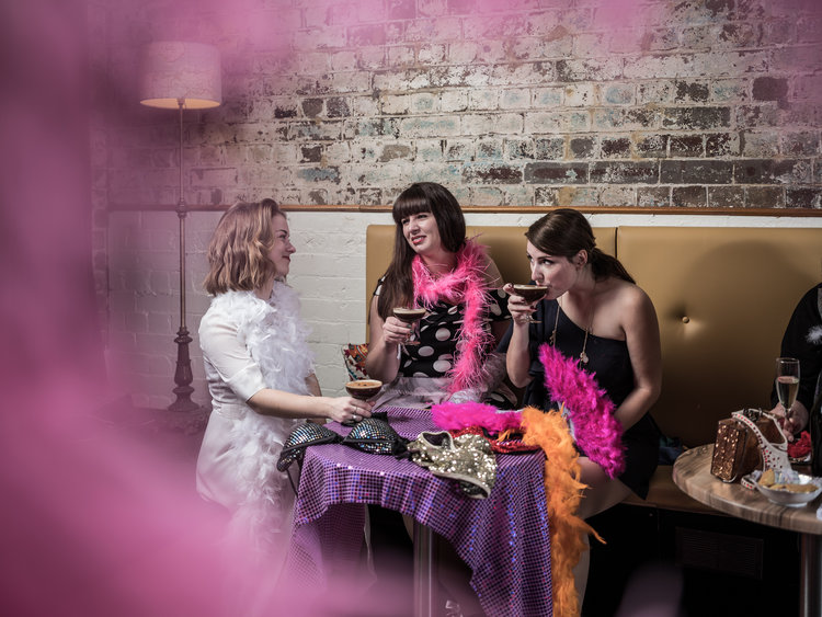 Pretty in Pin Up - Learn the art of Pin Up while enjoying a delightful high tea!