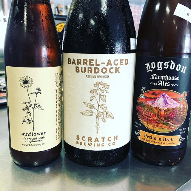 Today's a good day @scratchbeer @logsdonfarmhouseales