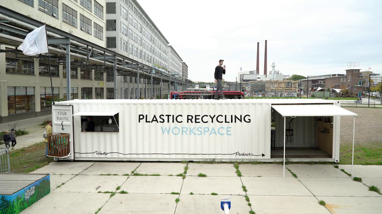 Recycling center - The circular economy is a key component of sustainability. We'll encourage our customers to bring their recyclables materials and turn them into new products.