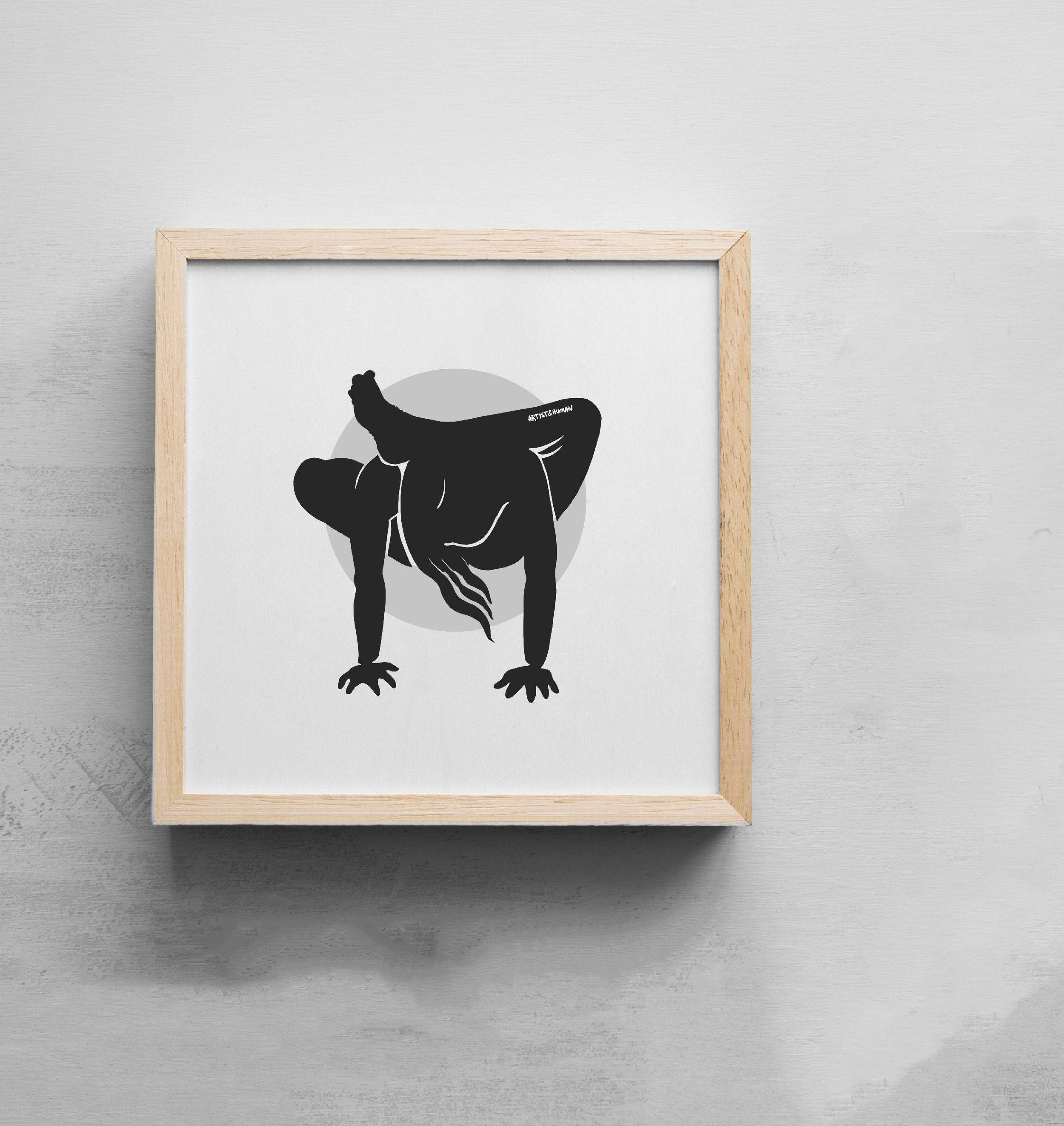 Creature Yogi II | Art Print