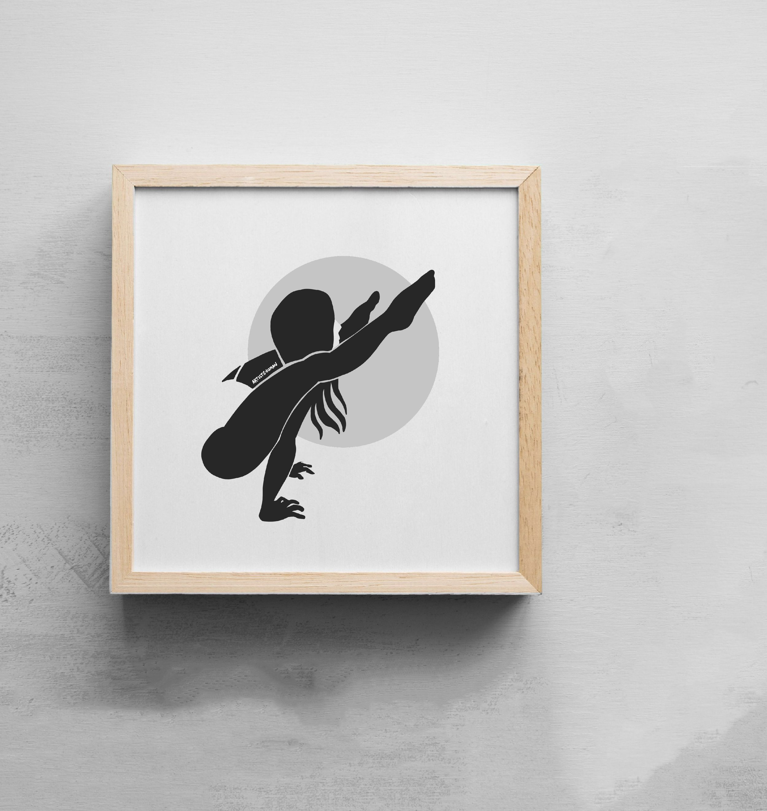 Creature Yogi I | Art Print