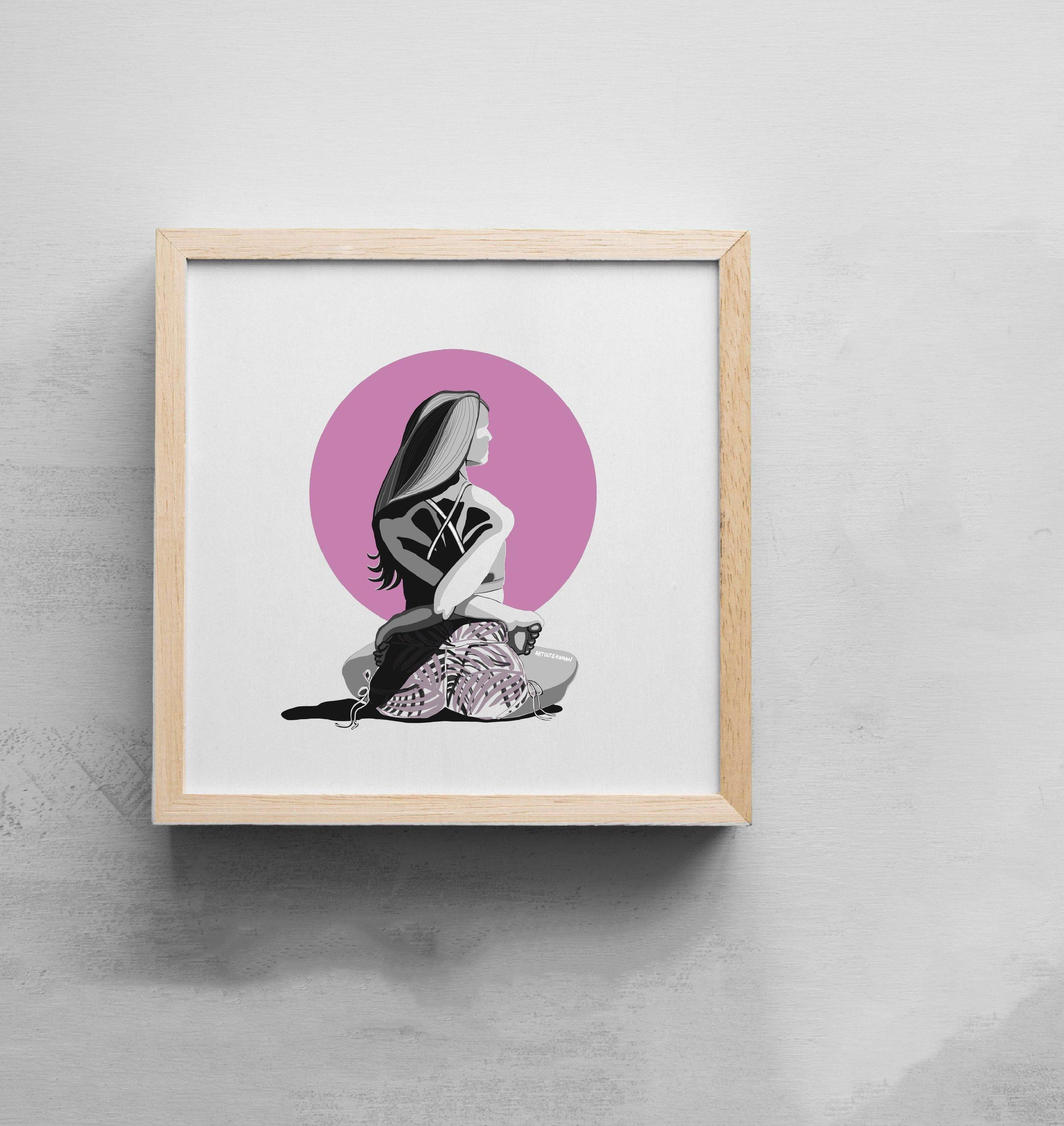 Goddess II | Art Print