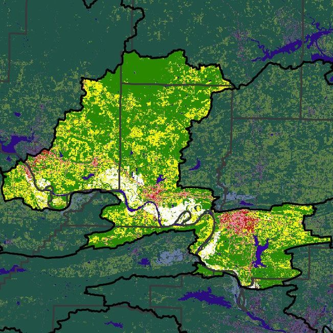 LCPR Watershed is approximately 1,140 square miles.