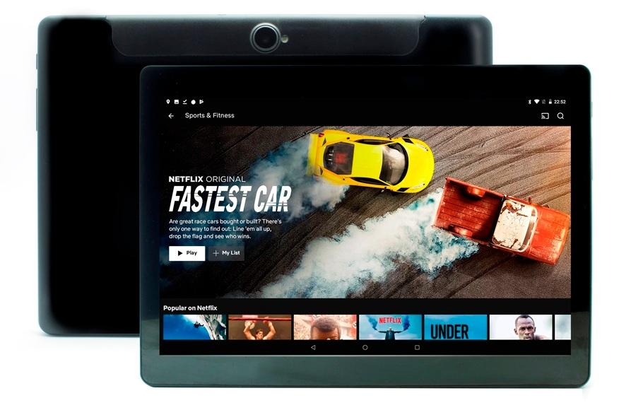 Una pantalla Full HD con resolución IPS para que puedas ver películas y videos en alta resolución