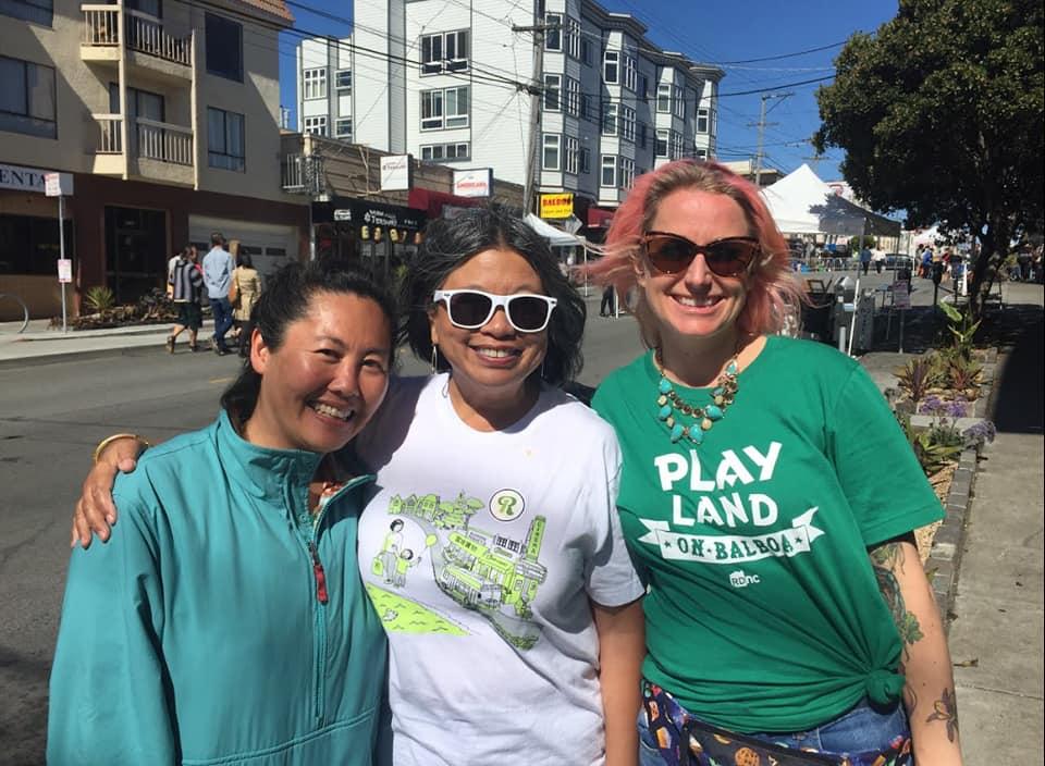 From Left to Right: Naomi Hui, Sandra Lee Fewer, Sarah Huck