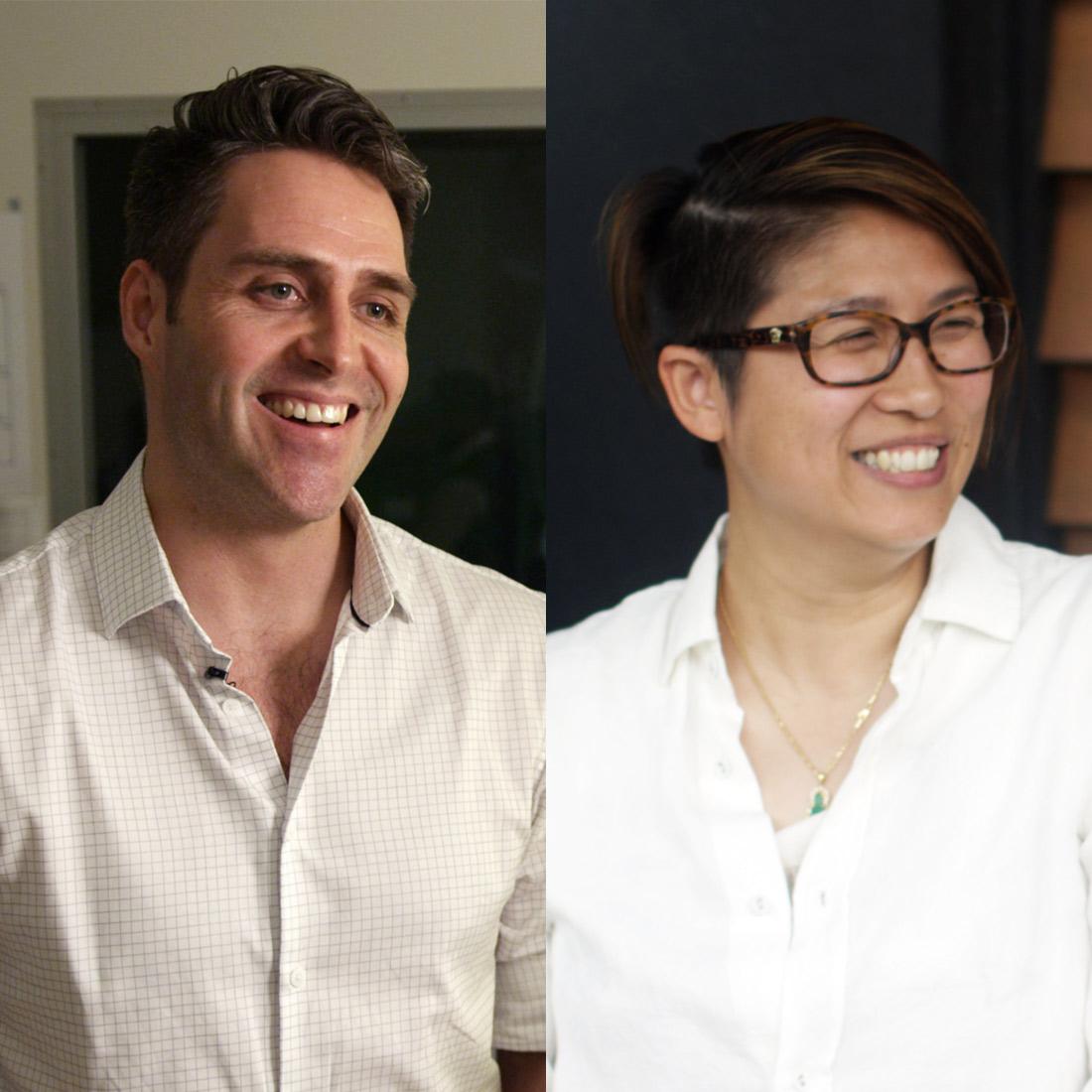 Dr Frederik Steyn and Dr Shyuan Ngo -