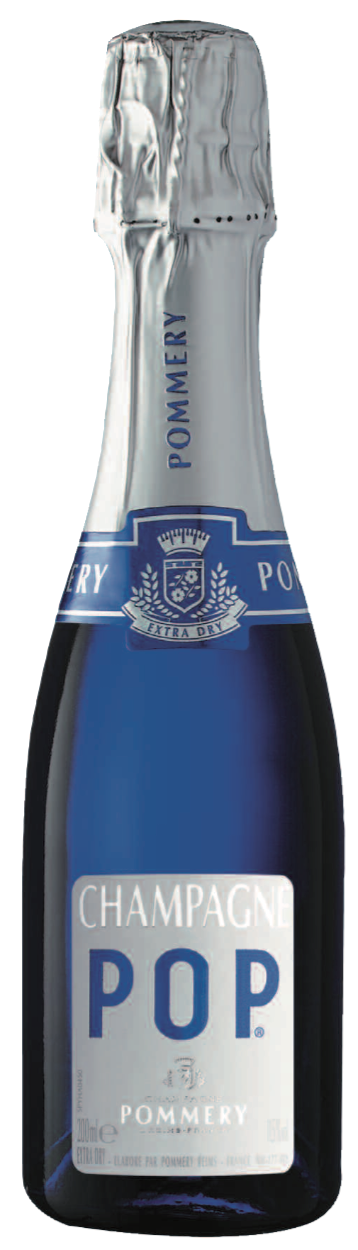 Champagne Pommery POP Mini Bottle NV, 200ml - Champagne60% Pinot Noir, 30% Chardonnay, 10% Pinot MeunierNT$ 750極致的光彩與優雅的氣質搭配。一款偉大的香檳,氣泡細緻活力旺盛。在一種對生活的熱情和渴望的背後,一種美好的新鮮感,同時也是美味佳餚。這款酒所具備的一切,使其成為當代時尚的香檳,我們喜歡喝的,因為它具有所有的特性:新鮮,圓潤和豐滿。 一款令人賞心悅目的葡萄酒,它將永遠與眾不同,讓每一個場合都更添風采!Extreme brilliance paired with great elegance. Effervescence of great Champagnes, highlighted by very fine bubbles. Behind a certain passion and thirst for life, a nice freshness but also great delicacy. It is the harbinger of easily accessible pleasure. This wine has everything to make it the contemporary Champagne, the one we love to drink because it boasts all the attributes: freshness, roundness and fullness. An immediately pleasing wine, it will always distinguish itself, making every occasion even more festive.另有客製化酒標,可供訂購,詳情請洽業務Personalized label Pre-order is available.