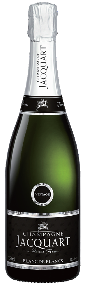 Champagne JACQUART Blanc de Blanc Vintage 2009, 750ml - Champagne100% ChardonnayNT$ 2,8002012年香檳葡萄酒產區遭受多次惡劣氣候影響、冬季和春季霜凍、開花期間降雨以及持續到7月的涼爽氣溫。儘管如此,溫暖,陽光明媚的日子,八月頻繁的風和涼爽的夜晚使我們收成挺好的。因此,葡萄酒具有無可挑剔的平衡和大量的陳年潛力。2012: A year of changing weather patterns. The Champagne wine region suffered in 2012 from numerous adverse weather events, with winter and spring frosts, rain during flowering and cool temperatures lasting into July. Despite this, warm, sunny days with frequent wind and cool nights in August enabled us to harvest superb, albeit small clusters. The resultant must then wines showed impeccable balance and substantial ageing potential.
