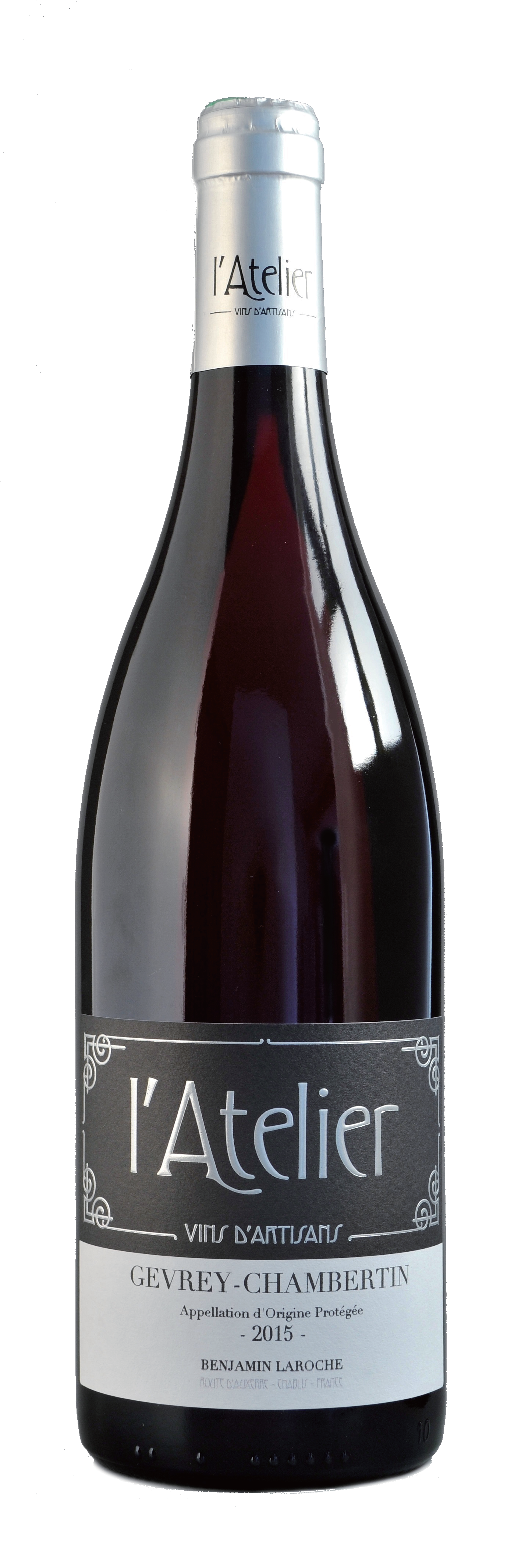 AOP GEVREY CHAMBERTIN 2015   - Région Burgundy 布根地100% Pinot noirPrice 价格 2.800NT$Tasting note 品飲Strawberry, blackberry, violet and rose as spontaneous aromas. Its maturity oofers a nose with liquorice, leather and fur hints. Full bodied, powerfull but complex.草莓,黑莓,紫羅蘭和玫瑰等芳香香氣。熟成后伴隨著甘草,皮革和毛皮等