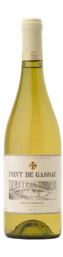 IGP Pays d'Hérault Pont de Gassac, 750ml - Languedoc 朗格多克40% Grenache Blanc, 20% Sauvignon Blanc,20% Chardonnay, 20% ViognierNT$ 800酒色呈淺金黃色,帶有白色花朵的香氣。 口中散發出成熟的鳳梨,與爽快的酸味非 常平衡。建議冰涼飲用(不需太冰),以利酒 體釋放出最佳香氣與味道。 與蘆筍湯,新 鮮干貝,煙燻鰻魚和火烤豬排搭配。Semi-golden colour with a nose of white flowers. Attractive palate of ripe pineapple but very well balanced by refreshing acidity. Better served not too cold to get the best out of the aromas and flavours. Great with asparagus soup, scallops, smoked eel and even roast pork.