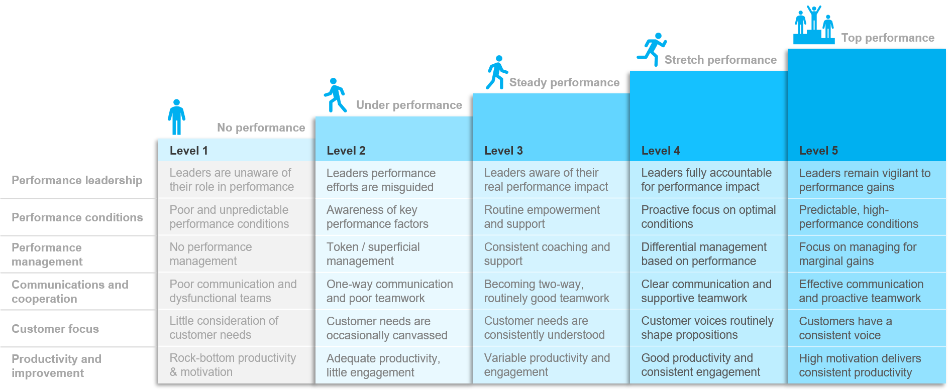 DImensions shown are from our  Performance Culture  Framework