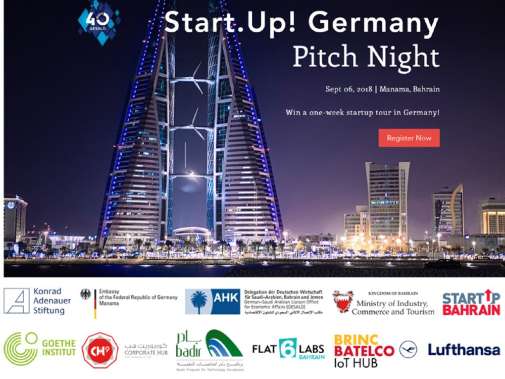 Saudi Gazette - 'Start.up! Germany Pitch Night' set to foster local talents