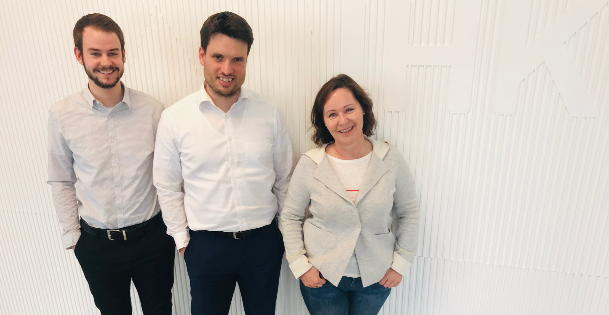 The team of Start.up! Germany - Munich: Gabriele Vetter, Christian Neugebauer and Lucas Wiegand (from right to left)  For questions and inquiries please contact us via  email .