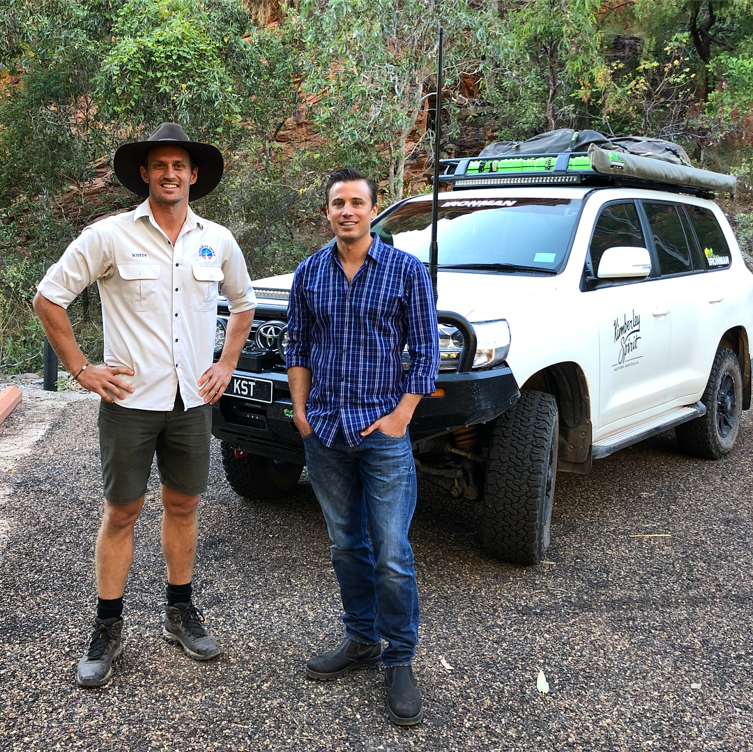 On tour with James Tobin from Sunrise