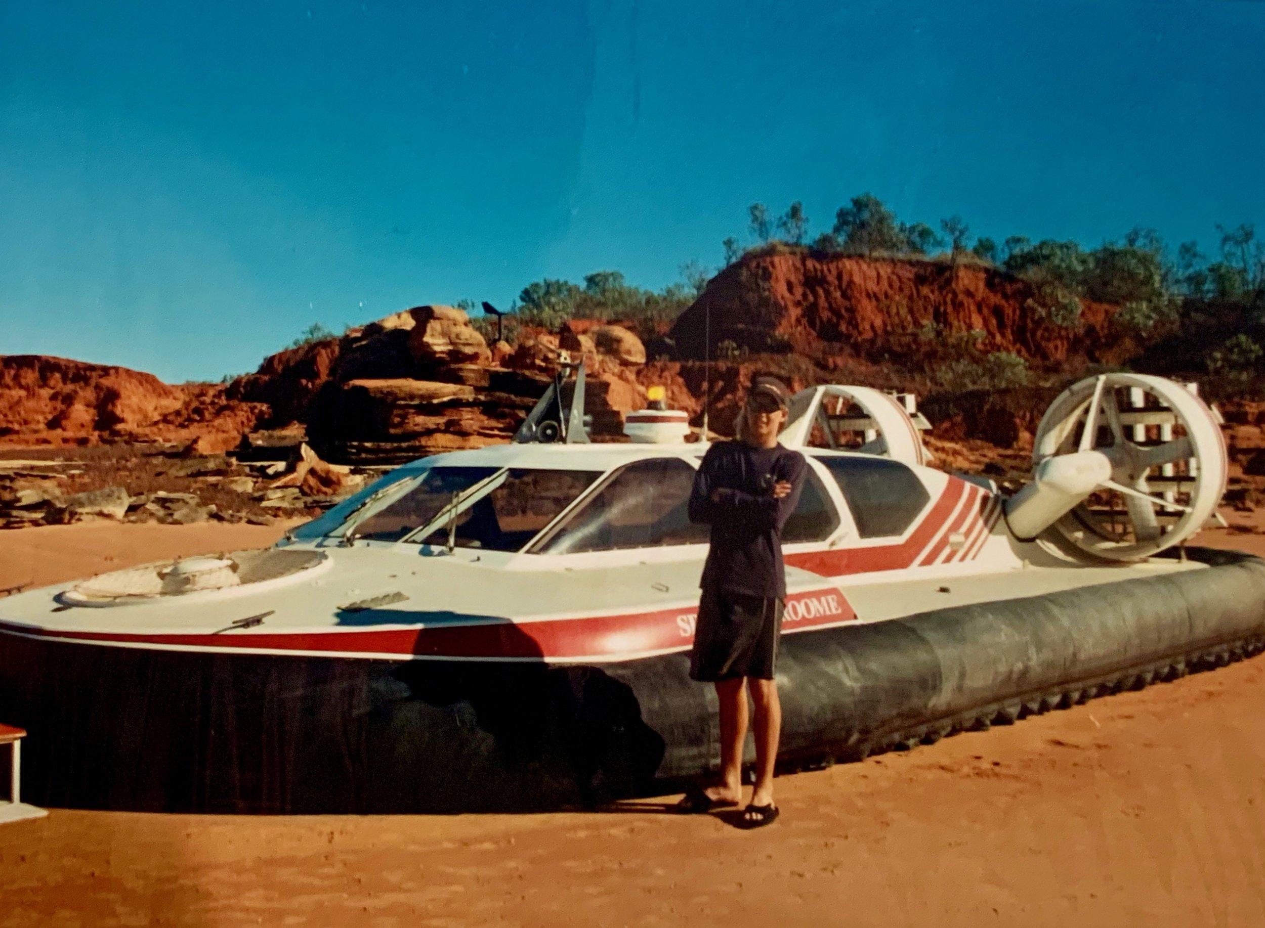 Broome Hovercraft, mid teens.