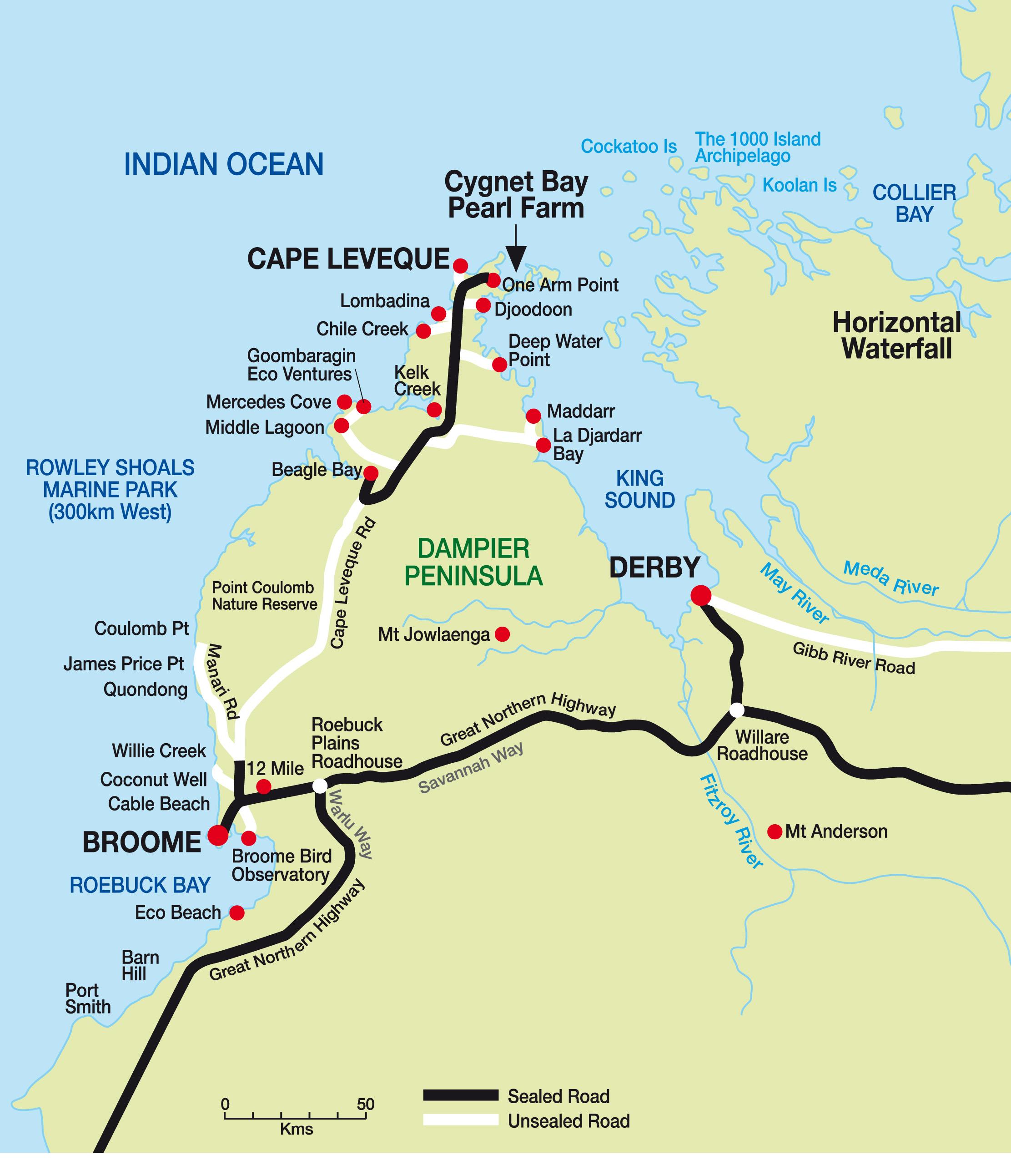 dampier-peninsula