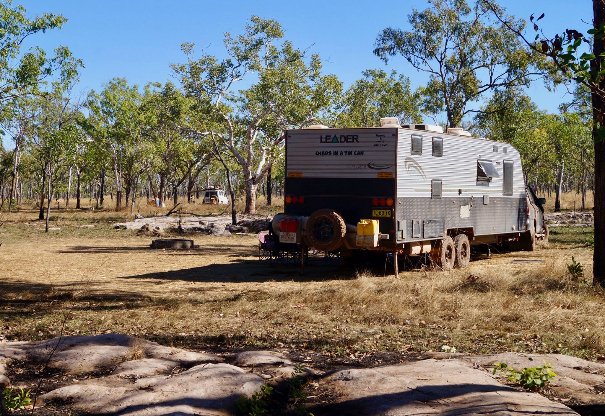 King Edward River camping