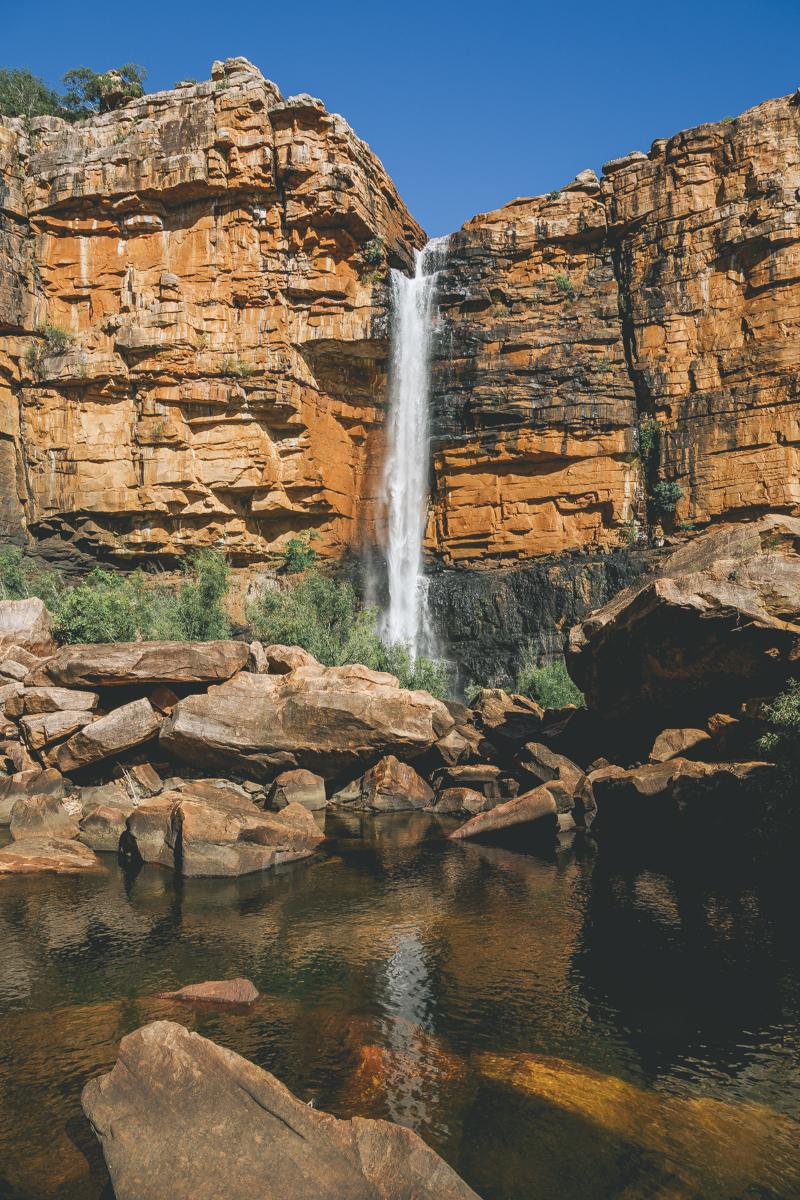 Waterfall captured by Landi Bradshaw