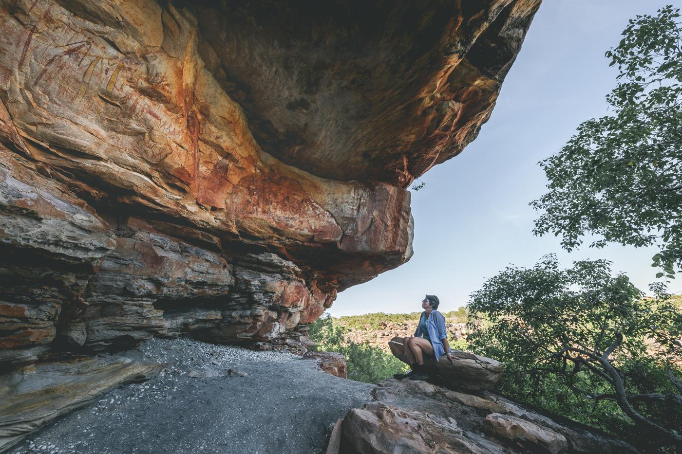 Indigenous Kimberley rock art, pic by Landi Bradshaw