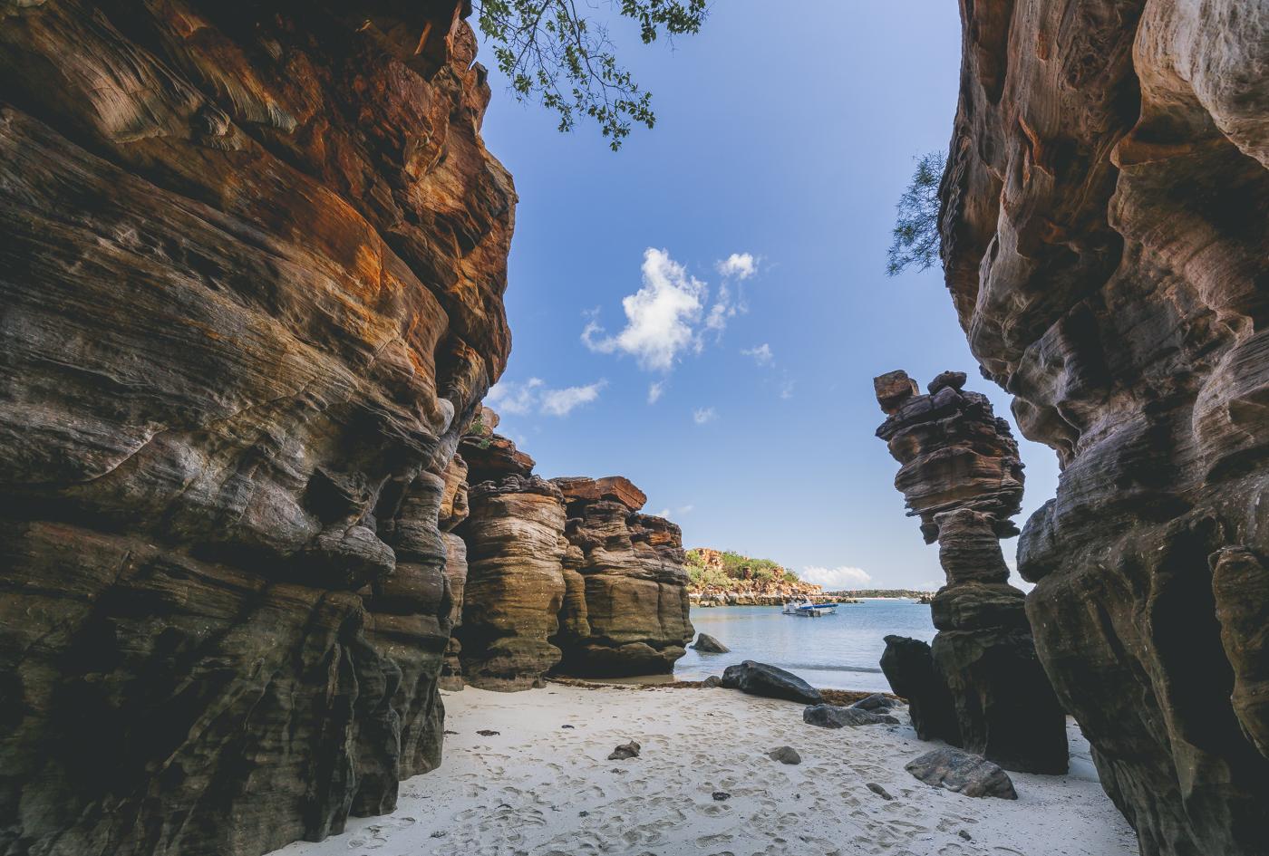 Rocks of the Kimberley coast, pic by Landi Bradshaw