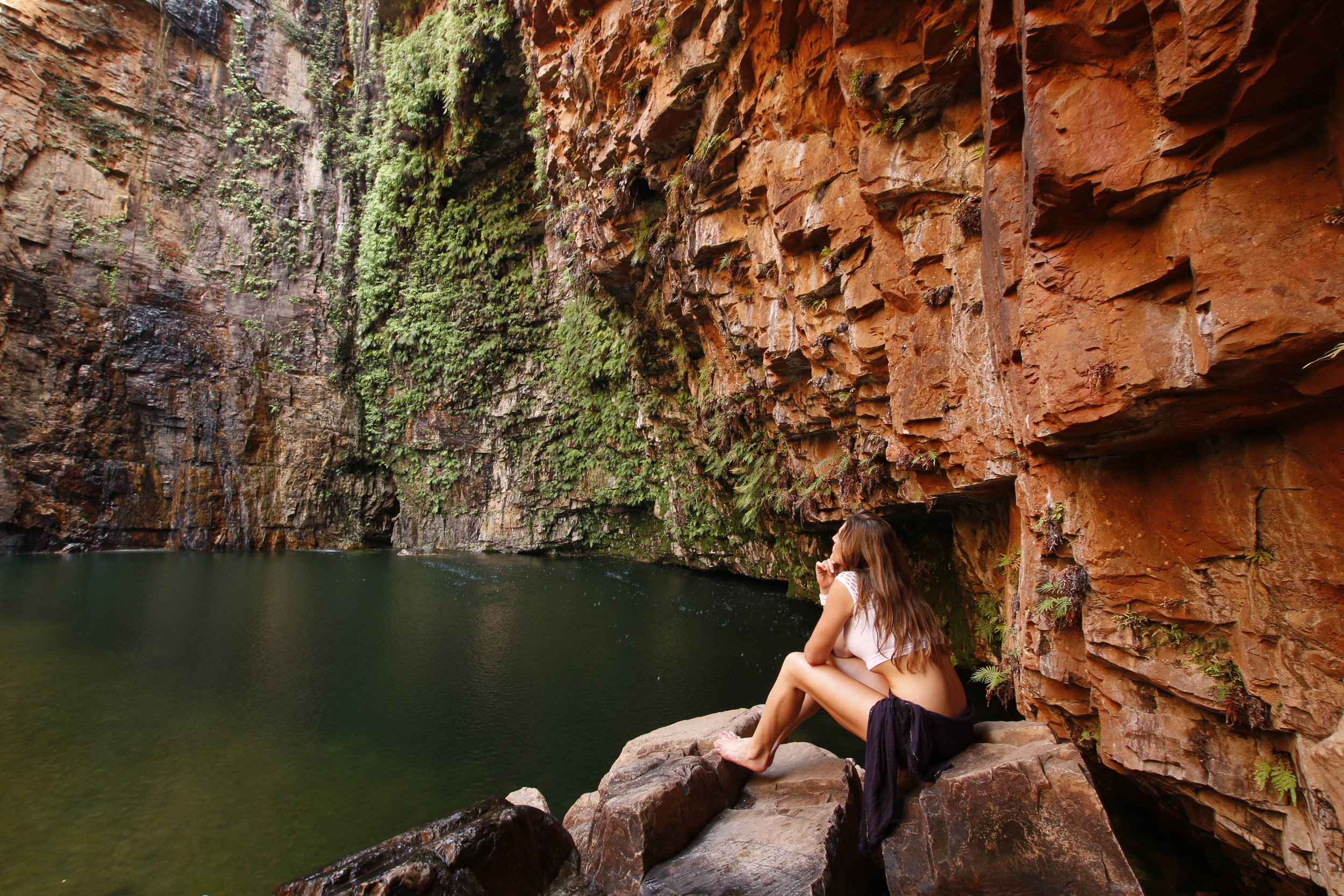 Emma at Emma Gorge. Photo by  Scott Connell.