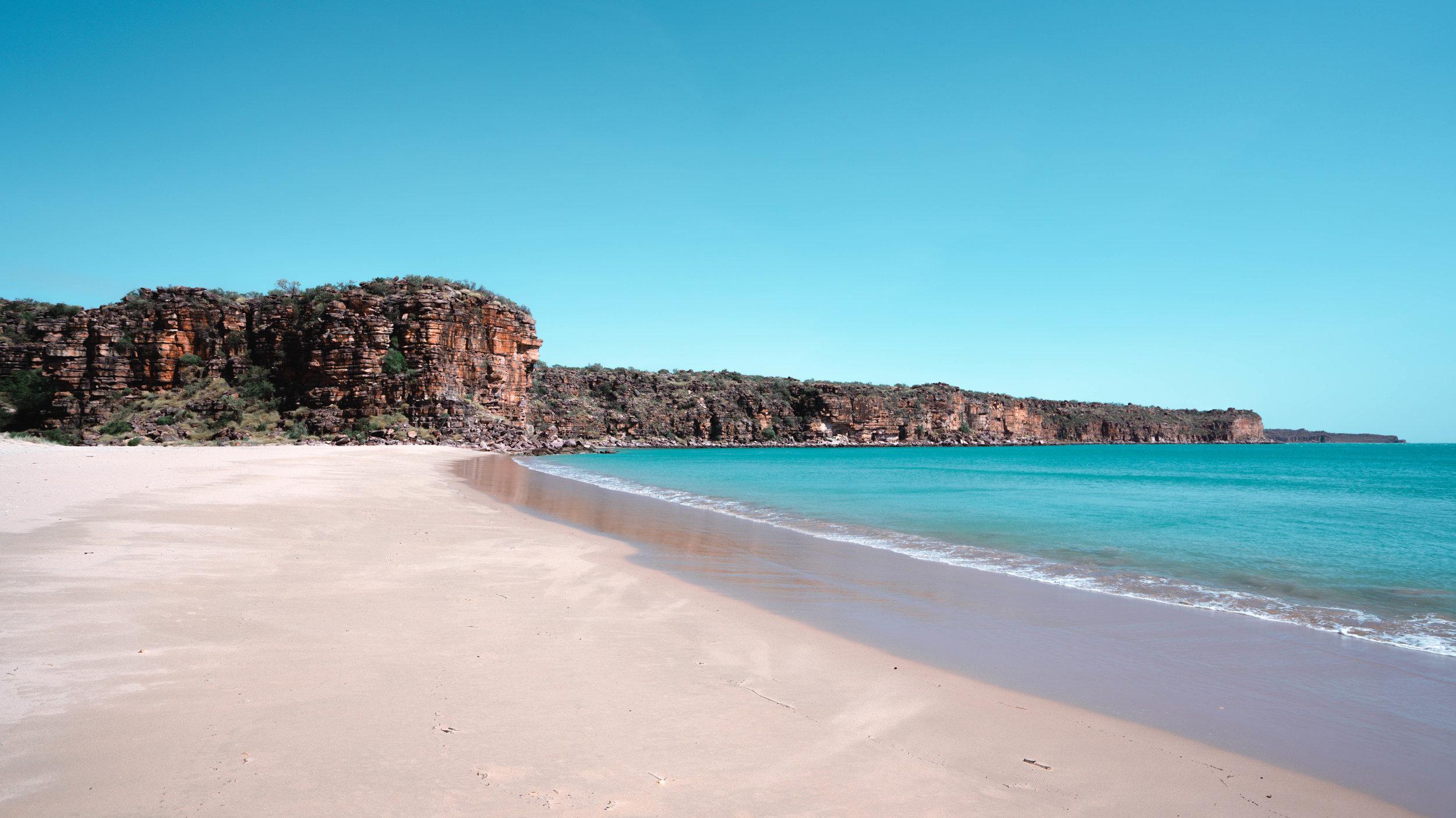 Tranquil Beach, Kimberley, Australia. Image by  Renata Lorrain