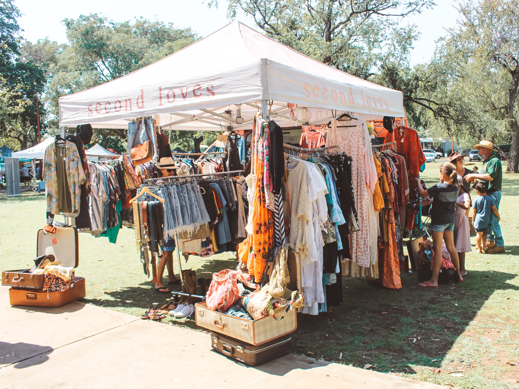 Kununurra Markets. Pic by M. Connell