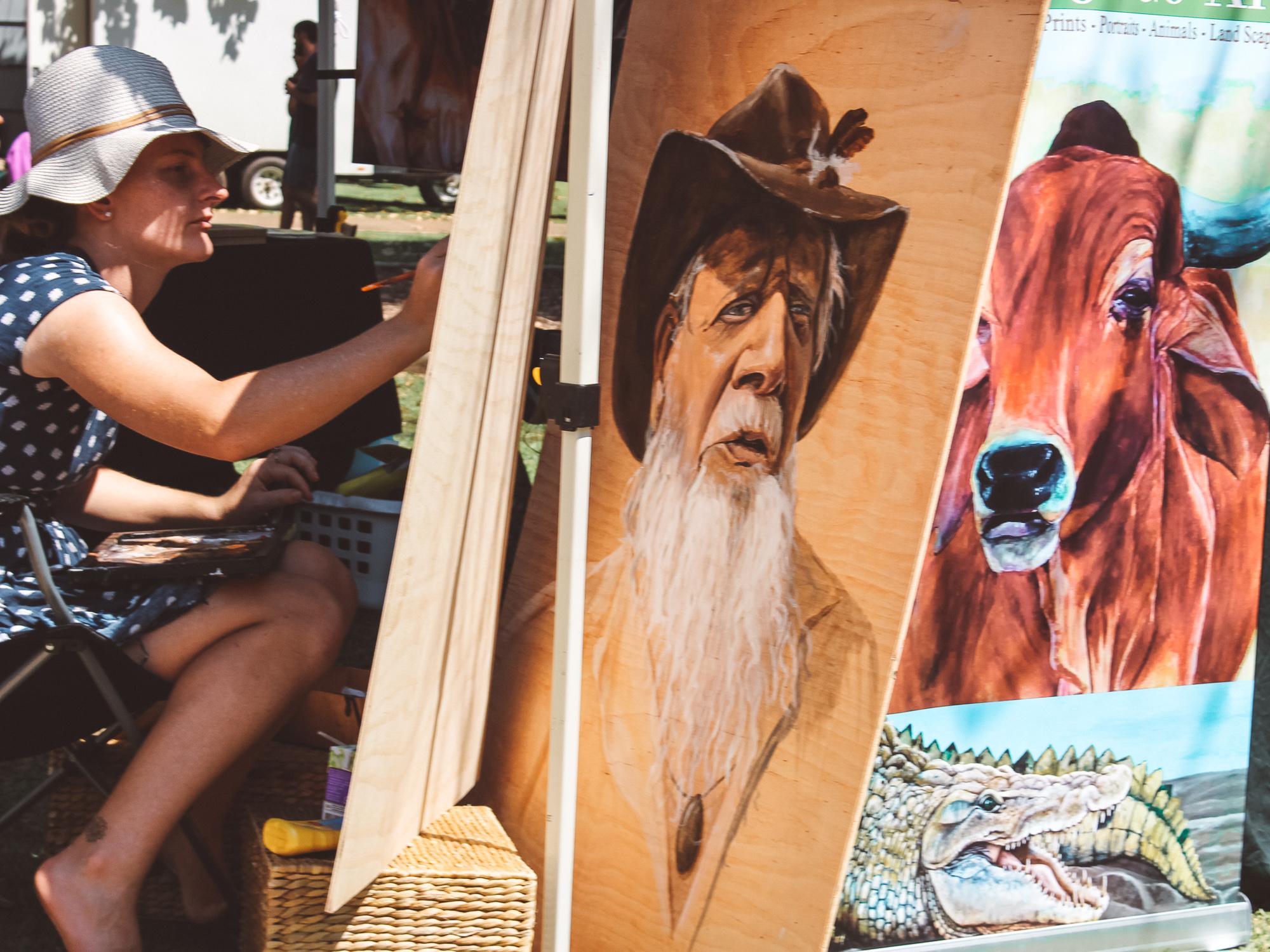 Kununurra Markets. Pic by J. Hall.