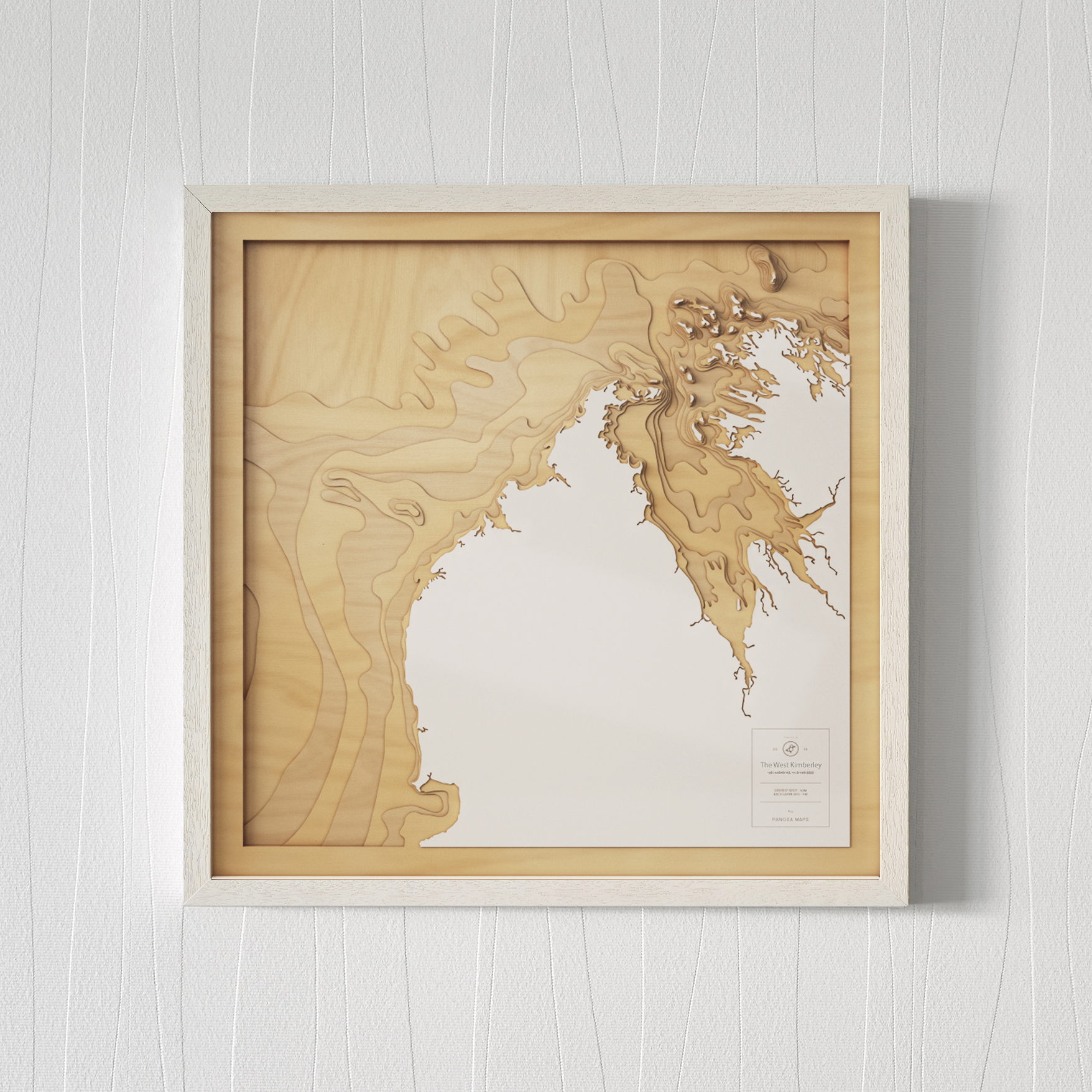 Broome & The Dampier Peninsula by  Pangea Maps