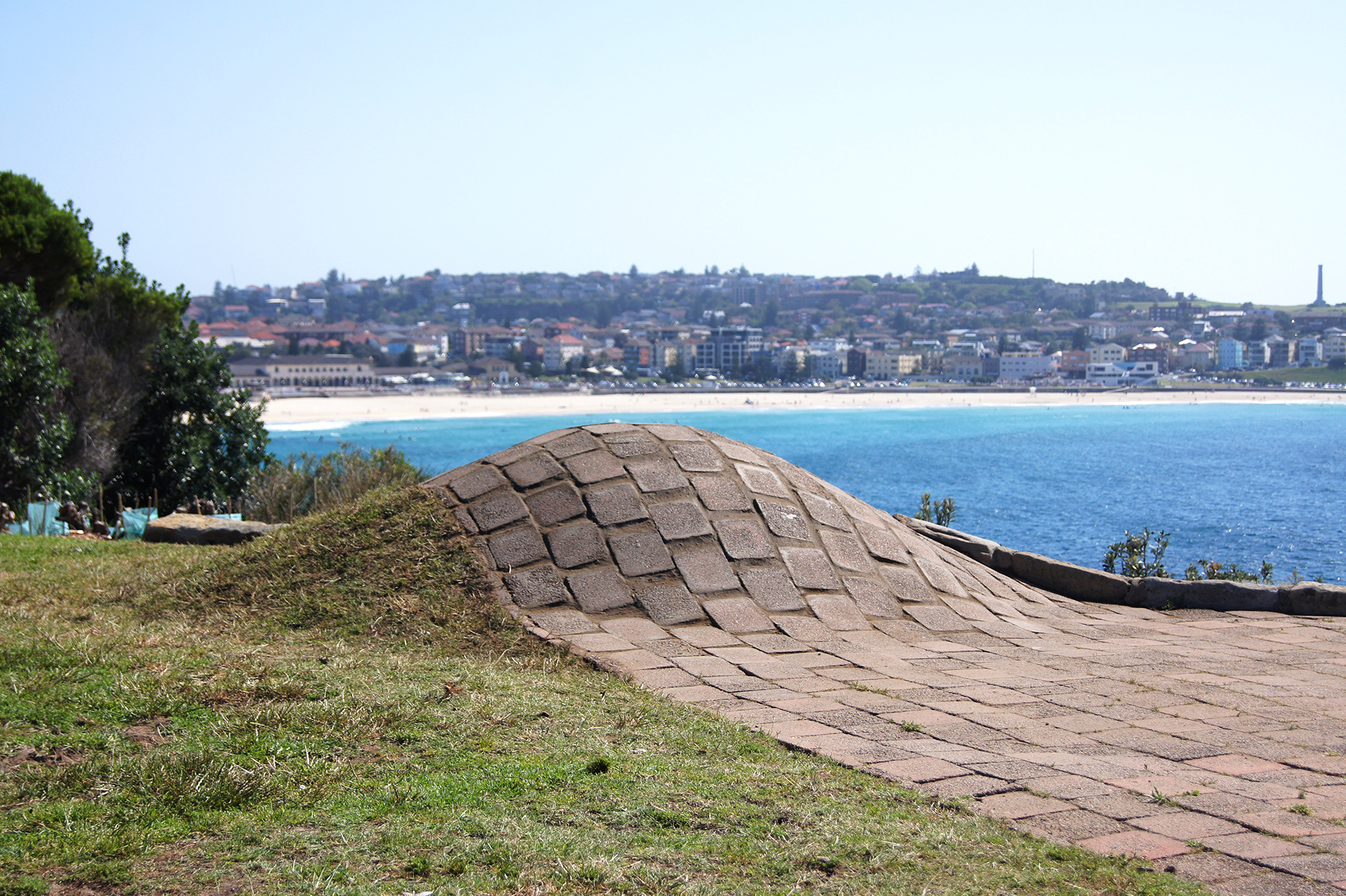 Ground Bondi , 2015 Mixed Media Dimensions Variable   Sculpture by the Sea , 2015, group exhibition, Sydney