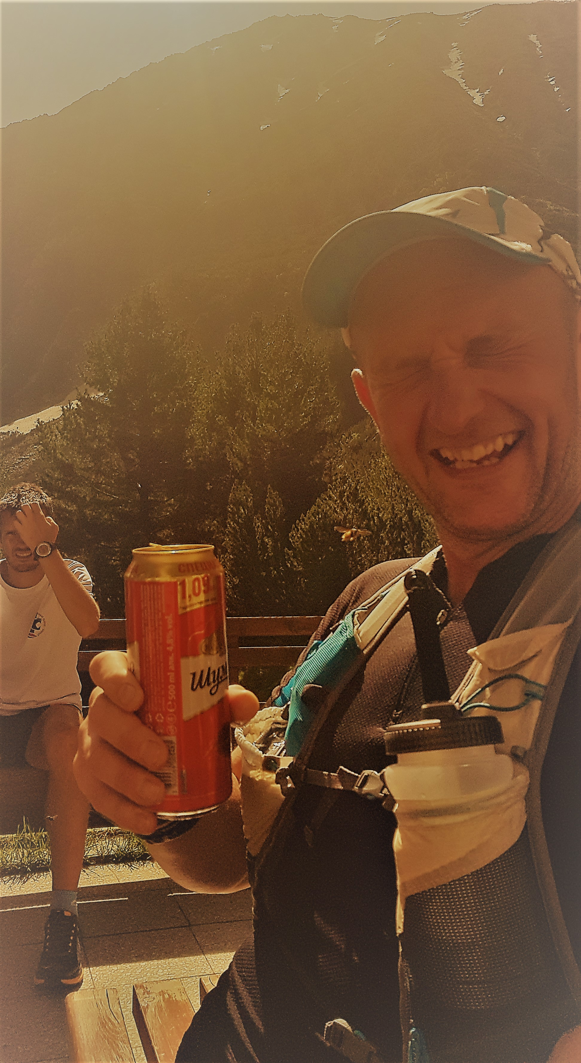 - If you have climbed 15 miles and are preparing a 15 mile downward descent then you can absolutely celebrate aka Carl the Legend