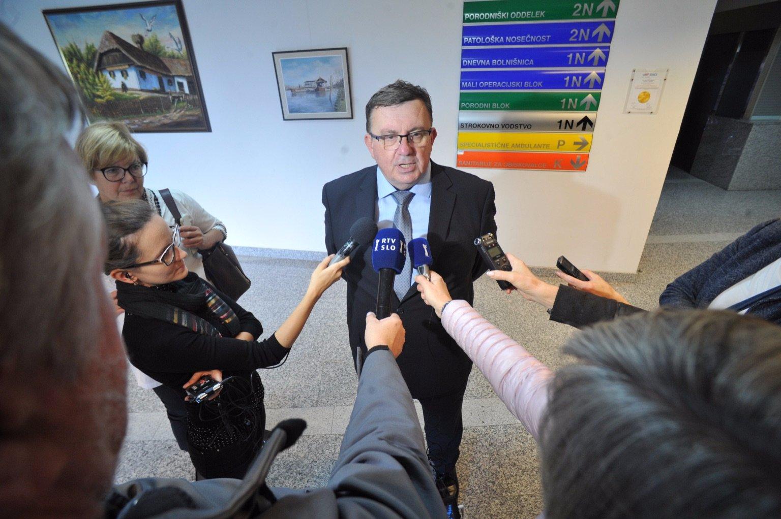 Minister za zdravje Samo Fakin, Foto: Večer